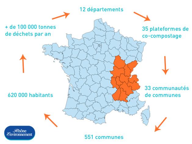 Rhône Environnement en chiffres