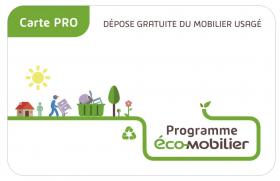 Points de collecte Pro ECO MOBILIER