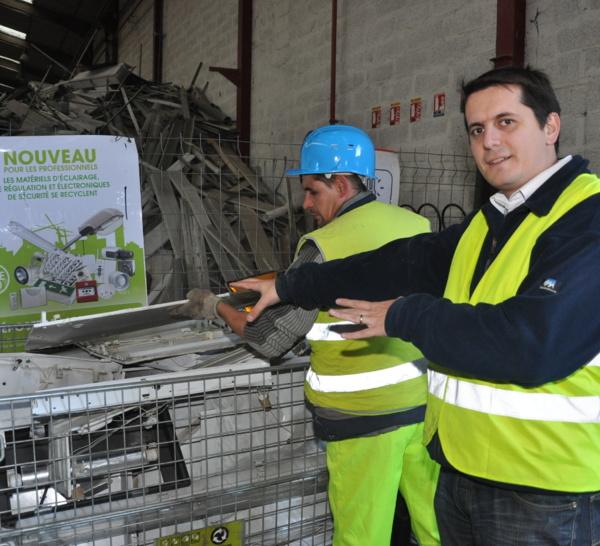 Nouveau service de recyclage des DEEE professionnels